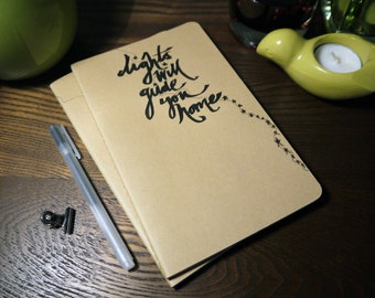 Lights will guide you Notebook