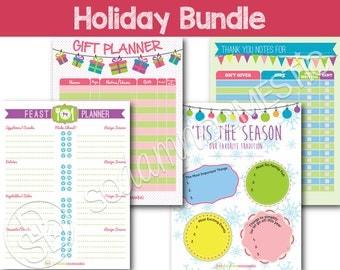 Holiday Bundle with Bonus - Printables