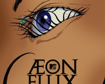 Aeon Flux MTV Large A1 Poster