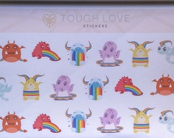 Ahhh! Rainbow Monsters!