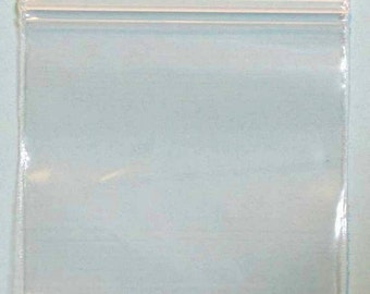 """1000 ~ 6 x 9"""" ~ 2 Mil Ziplock Reclosable Clear Poly Bags"""