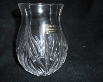 Noritake Full Lead Crystal ~ Candle Shade ~ West Germany