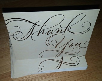 Thank You Cards, Cards, Wedding Thank You Cards, Bridal Shower Thank You Cards, Baby Shower, Anniversary