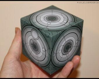 Tardis Siege Mode Cube Digital Download
