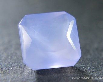Lavender Chalcedony, faceted, Mexico. 3.54cts