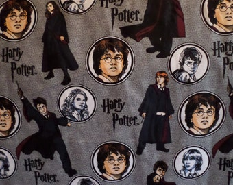 Harry Potter Fabric/ Cotton/ By Warner Bros Entertainment inc./ Sold by the yard