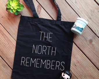 The North Remembers Canvas Tote
