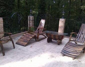 Unique handmade garden furniture