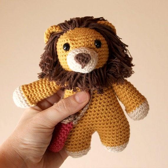 Lion - Animalius. Amigurumi Pattern PDF.