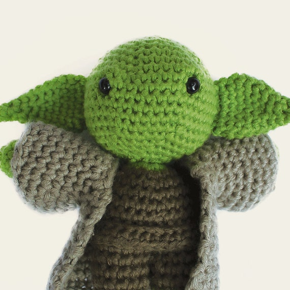 Amigurumi Pattern Yoda : Yoda Star Wars. Amigurumi Pattern PDF DIY Crafts by Mindundia