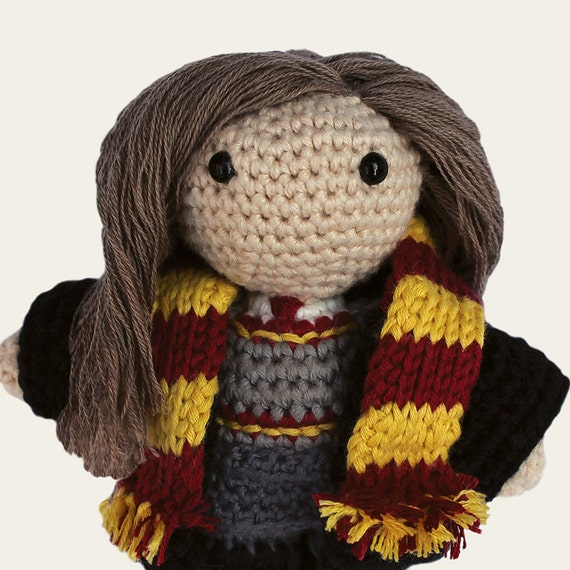 Amigurumi Harry Potter Pattern : Hermione Harry Potter. Amigurumi Pattern PDF DIY Crafts
