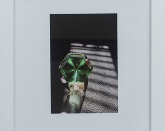 Still Life Photograph: Deck Prism in Hand