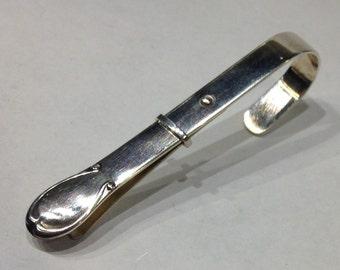 Sterling Silver Napkin Clip Denmark Sorensen Antique