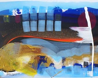 Abstract Original Art, Series X:D
