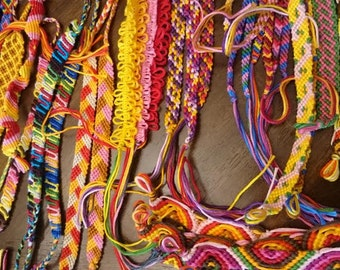 Friendship bracelets made to order