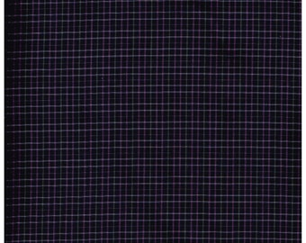 Fat Quarter, Recycle Fabric, PUR1401BRF, 100% Cotton Fabric, Purple, Pink, Gray,Plaid