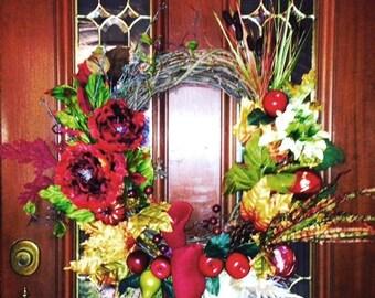 Unique Grapevine Wreath