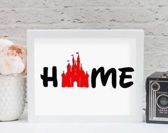 Home Castle Silhouette File