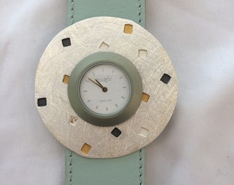 Silver Puzzle Watch