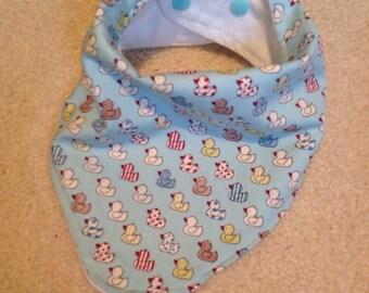 Baby bandana dribble bib