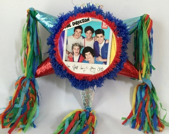 One Direction Pinata Handcrafted