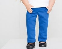 """American Girl® Doll clothes textured pants 18"""" doll leggings handmade doll clothes pants"""