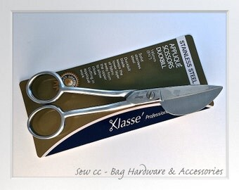 Klasse Scissors / Duckbill Scissors / Applique Scissors / Sew cc Bag Hardware & Accessories