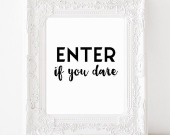 Enter if you dare – Etsy CA