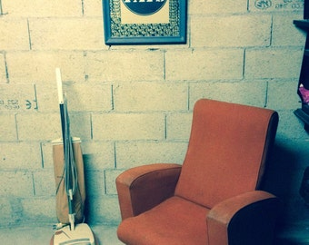 Armchair Scandinavian retro vintage