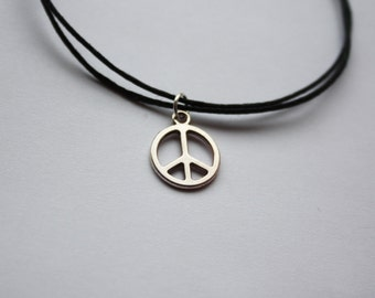 Peace Anklet