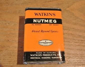 Vintage Watkins Nutmeg