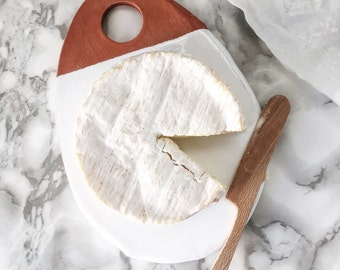 Organic Shape Cheese Board - Cheese Tray / Charcuterie Board