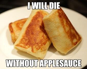 Art Print: Blintzes without Applesauce