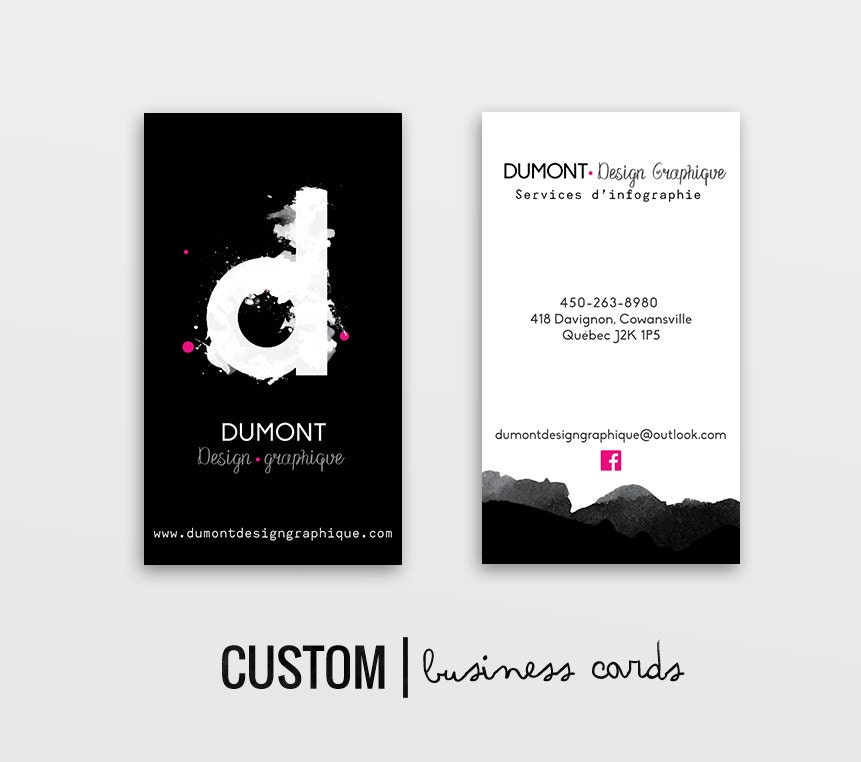 Business card design custom business card business card for Order custom business cards