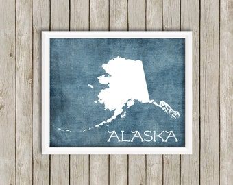 Custom Printable Digital Art - Alaska, Beyond Your Dreams - 8x10