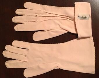 Vintage Kerrybrooke pink gloves