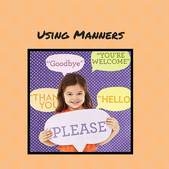 Using Manners