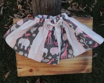 Pink Zoo Animal Skirt