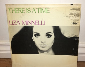Liza Minnelli There Is A Time Vinyl LP 1978