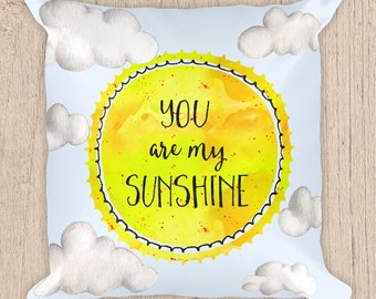 you are my sunshine pillowEtsy