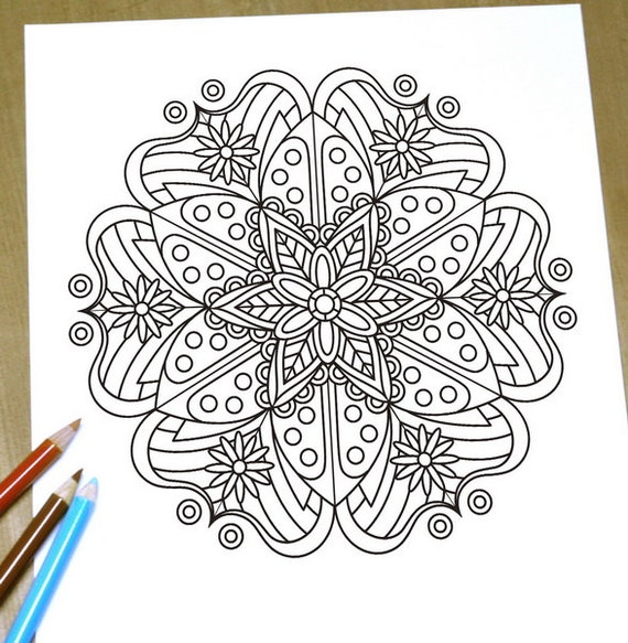 elegant printable adult coloring pages - photo#22