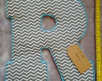 Personalised Large Fabric Letters