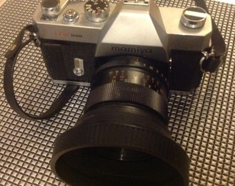 Mamiya DSX 1000 vintage 35mm camera & Photax 28mm lens