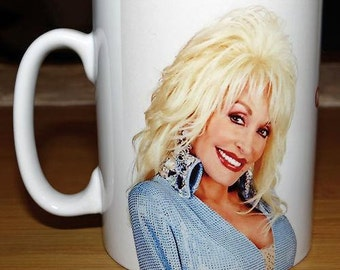 Personalised Dolly Parton Mug