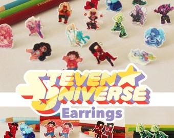 Steven Universe Earrings
