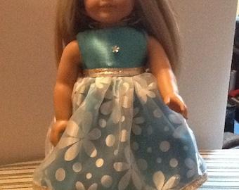 "18"" American Girl doll dress"