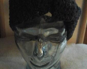 Black Knotted Headband