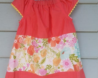 Pretty girls cotton sun dress size 2/3