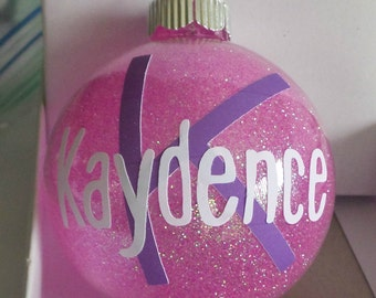 Personalized Ornament, Mom, Brother, Name, Sister, Pet