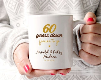 60th anniversary gift, 60th wedding anniversary, 60th anniversary,60 ...